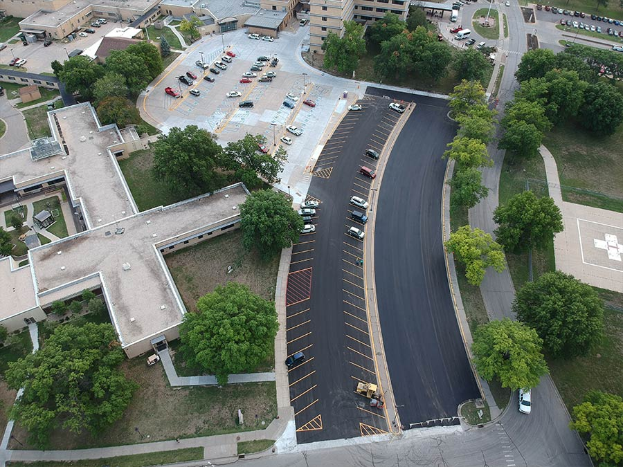 Parking lot construction - Onsite Construction Group LLC